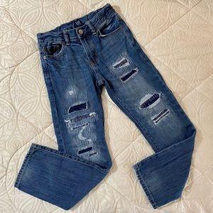 🔴 5 for $25 GAP Kids Destructed Straight Jeans